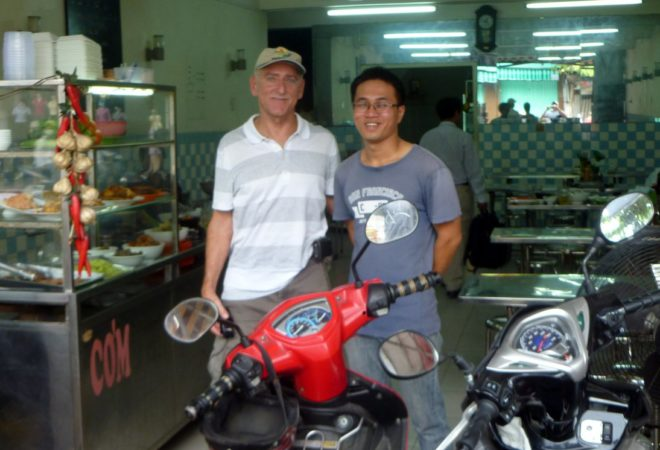 Joe & Hai at Dong Hoa Xuan restaurant