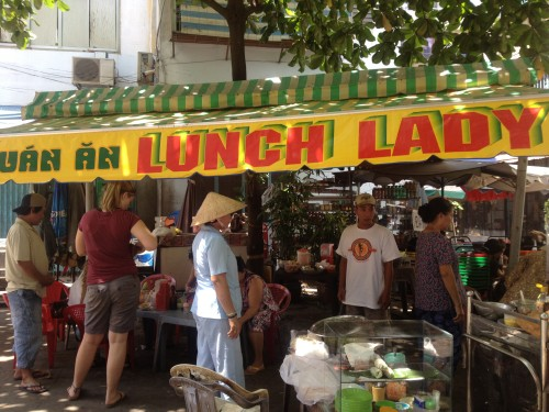 The Lunch Lady ~ Serving up Saigon Street Food