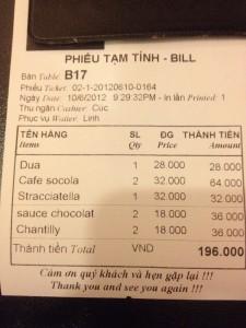 Fanny's Bill